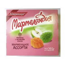 Мармелад МАРМЕЛАНДИЯ Ассорти, 255г, 1 штука