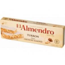 Туррон EL ALMENDRO с миндалем, 75г, 1 штука
