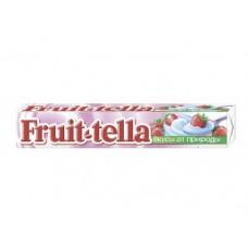 Жевательная конфета FRUIT-TELLA клубника-йогурт, 41г, 20 упаковок