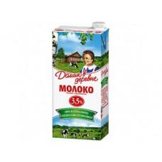 Молоко ДОМИК В ДЕРЕВНЕ стерилизованное, 3,5% 950г, 1 штука