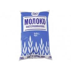 Молоко 36 КОПЕЕК пастеризованное 3,2%, 900г, 1 штука