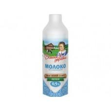 Молоко ДОМИК В ДЕРЕВНЕ легкое 0,5%, 950 мл, 1 штука