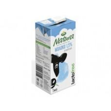 Молоко безлактозное NATURA стерилизованное 1,5%, 1л, 1 штука