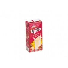 Молочный напиток ЧУДО стерилизованный банан/карамель, 2% 950г, 1 штука
