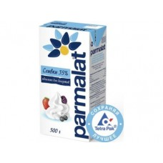 Сливки PARMALAT стерилизованные, 35% 0,5л, 1 штука