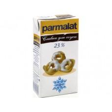 Сливки PARMALAT Стерилизованные 23%, 0,5л, 1 штука