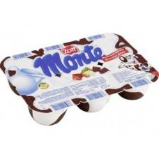 Десерт ZOTT MONTE 13,3% шоколадный, 6х55г, 4 штуки