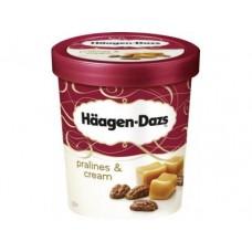 Мороженое HAAGEN-DAZS пломбир с крем-пралине, 430г, 1 штука