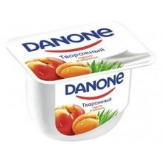 Творожный десерт DANONE персик/абрикос, 170 г, 1 штука