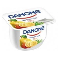 Творожный десерт DANONE груша/банан, 170 г, 1 штука