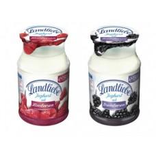 Йогурт LANDLIEBE черника/малина, 2,8% 150г, 1 штука