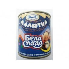 Сгущенка МАЛЮТКА Бела слада вареная с сахаром, 360г., 1 штука