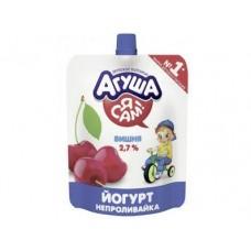 Йогурт АГУША Вишня, 85г, 1 штука