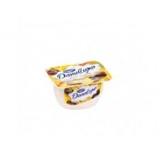 Творожный десерт ДАНИССИМО манго/шоколад,  6,8%, 130г, 1 штука