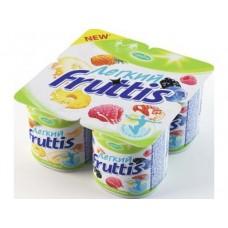 Йогурт FRUTTIS легкий 0,1%, 4х110г, 1 упаковка