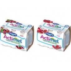 ACTIMEL гранат 2,5%, 100г, 6 коробок