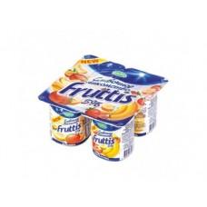 Йогурт FRUTTIS манго-дыня/банан-клубника 5%, 4х115г, 1 упаковка
