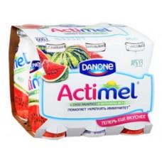 ACTIMEL арбуз, 100 г, 8 штук