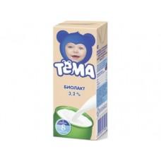 Биолакт ТЕМА 3,2%, 208г, 1 штука