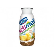 ACTIMEL ананас/кокос, 100 г, 6 штук