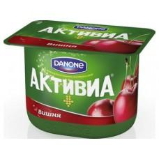 Йогурт АКТИВИА Вишня, 150г, 1 штука