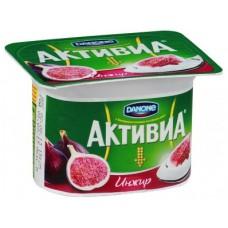 Йогурт АКТИВИА Инжир, 150г, 1 штука