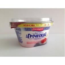 Йогурт EHRMANN А-ля Греческий Вишня/Черешня, 140г, 1 штука