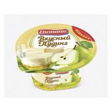 Вкусный пудинг EHRMANN груша Вильямс 5,8%, 140г, 1 штука