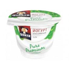 Йогурт QUAKER классический 3,2% 180г, 1 штука