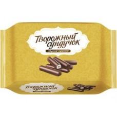Сырок глазированный ТВОРОЖНЫЙ СУНДУЧОК с вареной сгущенкой, 150г, 1 штука
