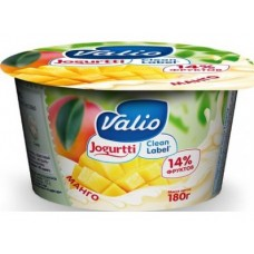 Йогурт VALIO Черника и клубника 2,6%, 180г, 1 штука
