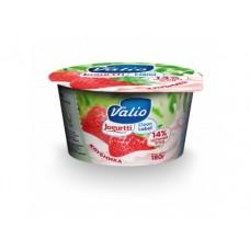 Йогурт VALIO Клубника 2,6%, 180г, 1 штука
