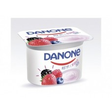 Йогурт DANON Лесные ягоды 2,9%, 110г, 1 штука