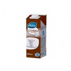 Сливки VALIO для кофе 10%, 250г, 1 штука