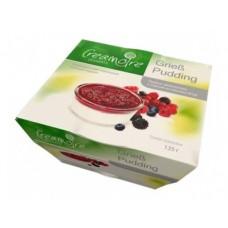 Манный пудинг CREAMOIRE ванильный с соусом из лесных ягод, 135г, 1 штука