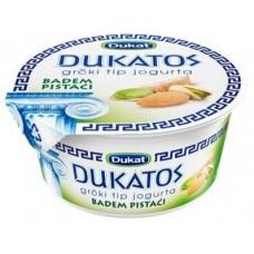 Йогурт DUKAT греческий миндаль, фисташки, 150г, 1 штука