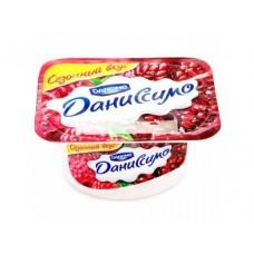 Творожный десерт ДАНИССИМО малина и гранат, 130г, 1 штука