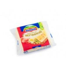 Плавленый Сыр  HOCHLAND тостовый сливочный с ветчиной, 150г, 1 штука