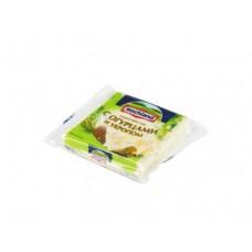 Плавленый Сыр  HOCHLAND тостовый с огурцами и укропом, 150г, 1 штука