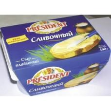 Плавленый Сыр  PRESIDENT Ассорти, 400г, 16 штук