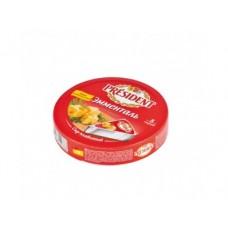 Плавленый Сыр  PRESIDENT эмменталь, 140г, 1 штука
