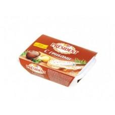 Плавленый Сыр  ПРЕЗИДЕНТ с грибами, 200г, 1 штука