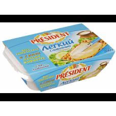 Плавленый Сыр  ПРЕЗИДЕНТ лёгкий, 200г, 1 штука