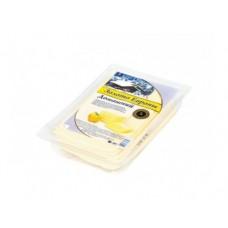 Сыр ЗОЛОТО ЕВРОПЫ домашний полутвердый в нарезке, 500г, 1 штука