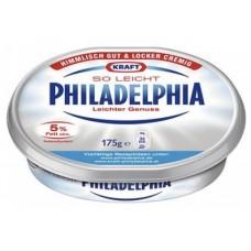 Творожный сыр Филадельфия KRAFT Лайт, 175г, 1 штука