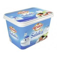 Сыр Салакис PRESIDENT 48%, 500г, 1 штука