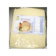Сыр  FINE FOOD Российский сливочный 50%, 400г, 1 кг
