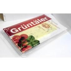 Сыр GRUNTALER томат и базилик, 250г, 1 штука