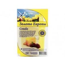 Сыр ЗОЛОТО ЕВРОПЫ Гауда, 300г, 1 штука