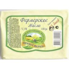 Сливочное масло Прямо с Фермы 72,5%, 180, 1 штука